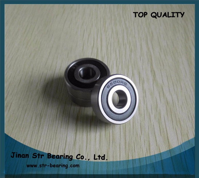 Nylon PLastic PRECISION Ball Bearings 10*30*9 Bearing 6200 2 PCS 10x30x9 mm