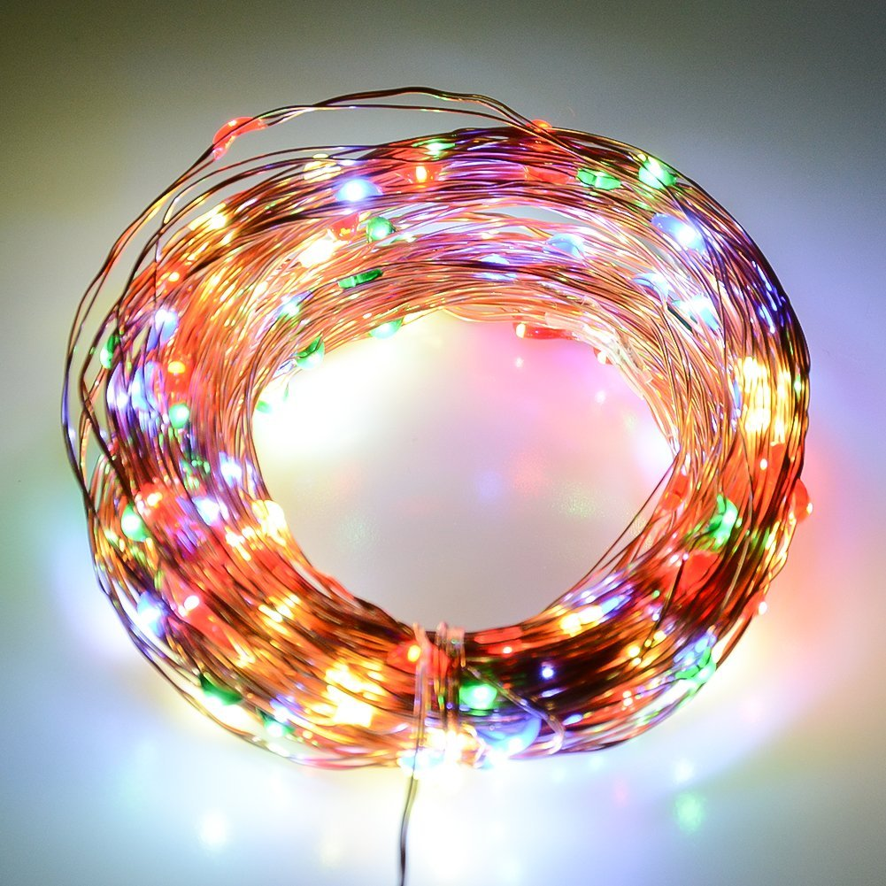 get quotations jd multi colored led string lights copper wire lights durable and waterproof