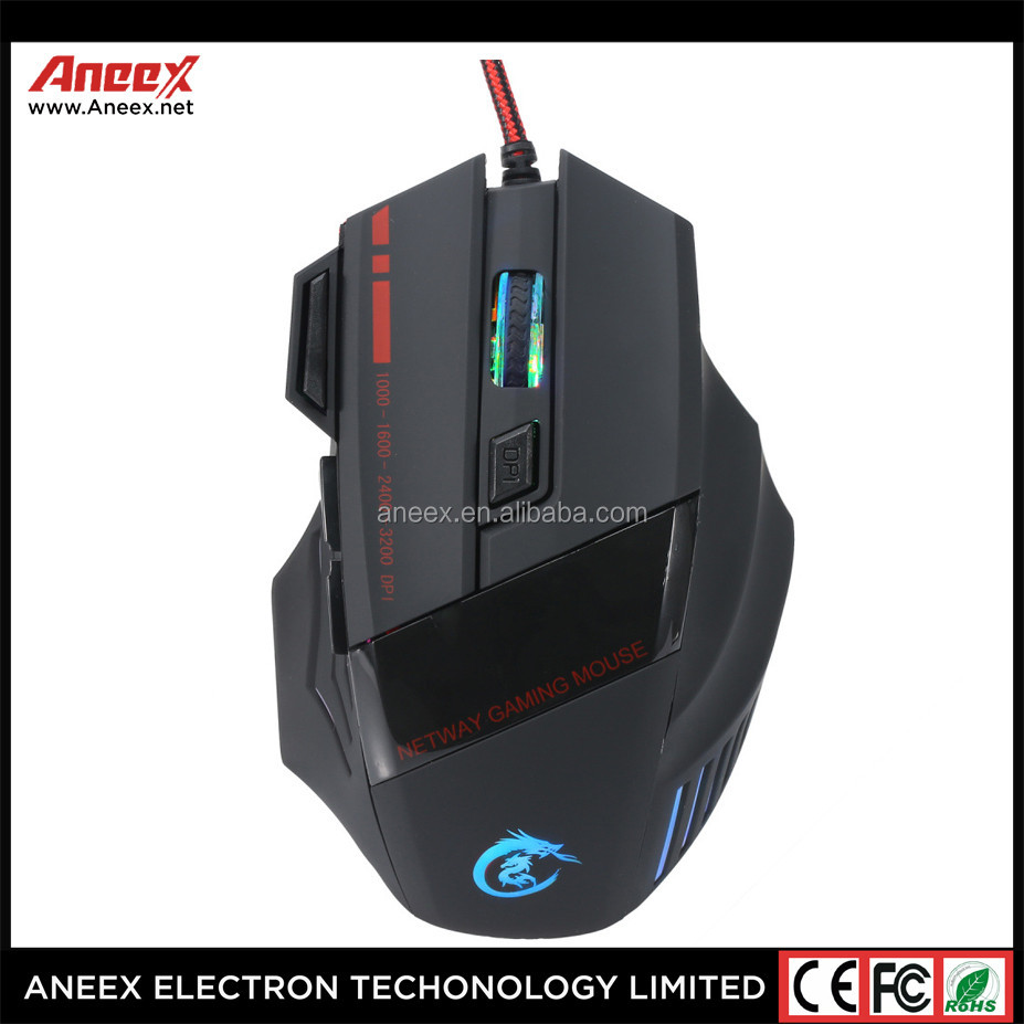 The cheapest 7D gaming optical mouse high-tech and glowing gaming mouse