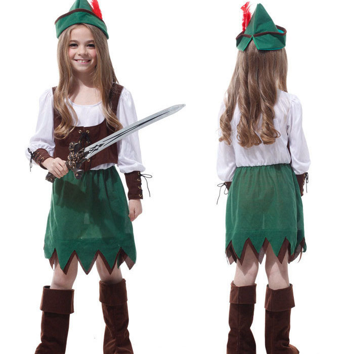 Childrenu0027s Classic Halloween Costumes Girls Pirate Costume For Girls Cosplay Costume Christmas Carnival Costume For Kids  sc 1 st  Alibaba & Buy Children Kid favourite Classic Pirate Costume Halloween cosplay ...