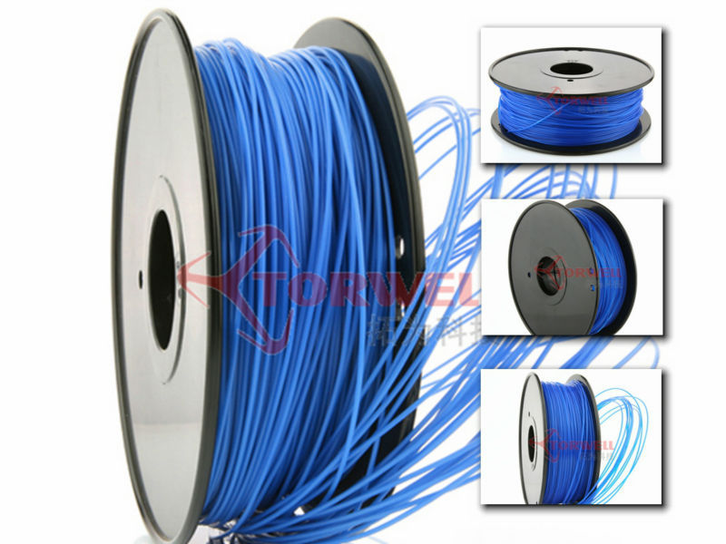3d Printers & Supplies Intelligent 3d Printer Filament Abs 3mm 1kg 2.2lb Spool Blue Color 3d Printing Material