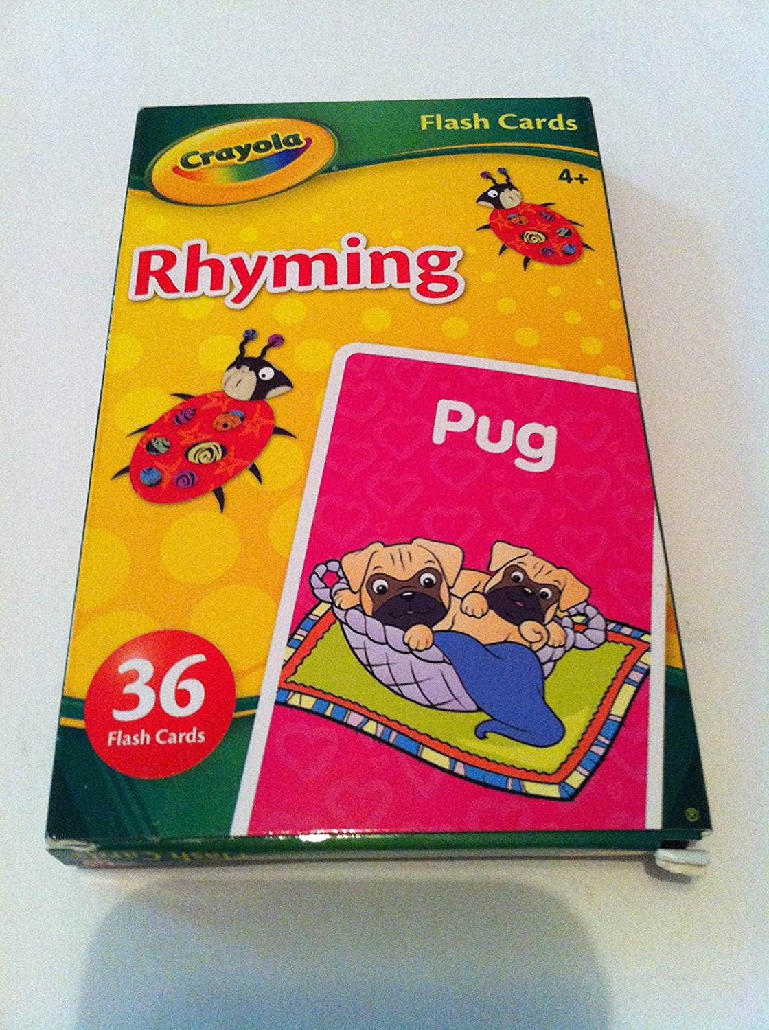 """Crayola """"Rhyming"""" Flash Cards (36 flash cards) ages 4+ years"""