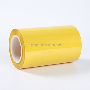 chinese polyester metallized cpp bopp film Black/ Yellow/ Green/ Bule PET film