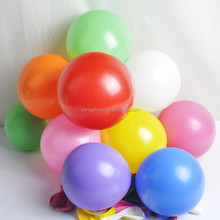 Colorful standard latex helium balloon with different weights