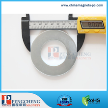 Ring Outer diameter 80mm N52 ndfeb magnet for large speaker magnet price