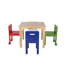 Best Selling School Furniture Study Kids Table And Chair Set
