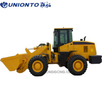 China new machine 3 ton mini wheel Loader with good price for sale