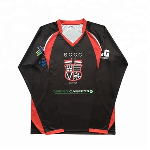 High Quality Custom Men's Full Hand Cricket Jersey For Sale