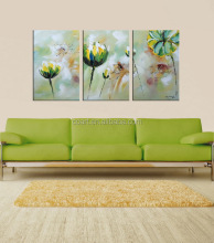 handmade abstract flower oil canvas paintings