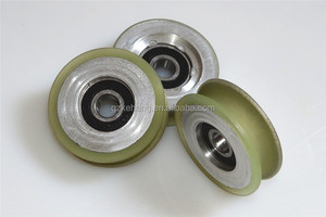 sliding door roller with bearing ,pu roller skids,wheel bearing/machine parts/ Machinery parts/ceramic caster