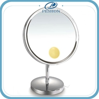 New arrival vanity table with lighted mirror makeup mirror