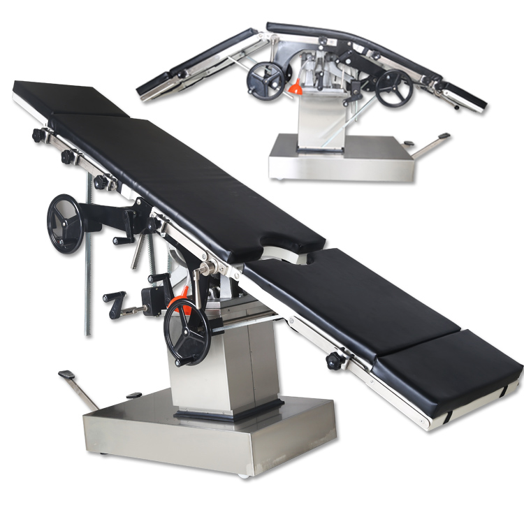KST-08B High Quality And Inexpensive manual hydraulic operating <strong>table</strong> operating facial bed