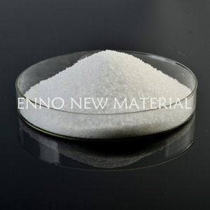 Waste water treatment free-flowing cationic polyacrylamide powder