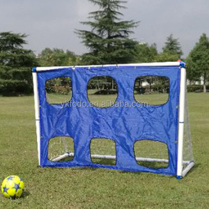 Made in china jinhua yiwu standard PVC improve soccer goal with target and sporting goods FD806B