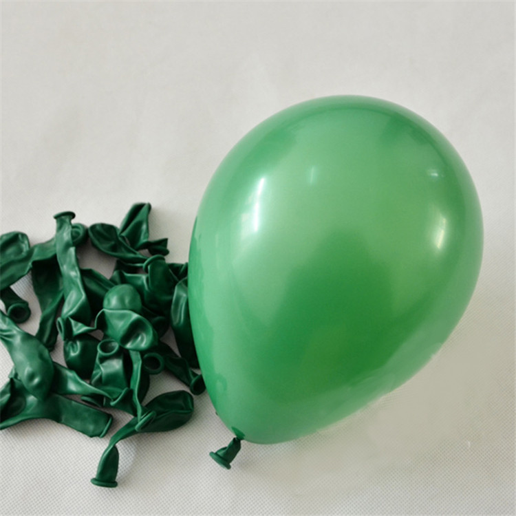 Reliable And Good 5 Inch Round Mini Multicolor Balloons High Quality Birthday Party Decoration Dark Green Color Latex Balloon