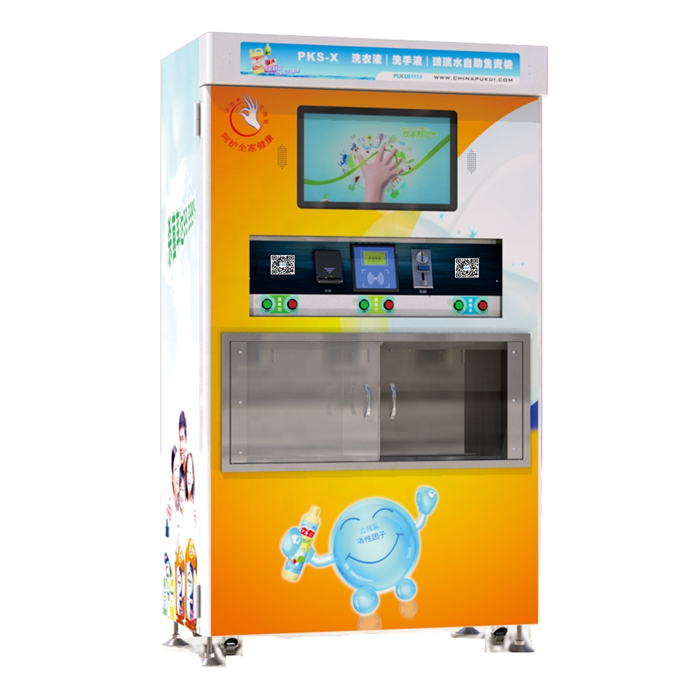 Kitchen Appliances Commercial Self Services Ice Cube Vending Machine Ice Water Vendor Machine With Payment System