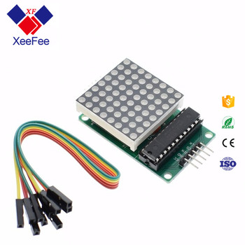 Max7219 Dot Matrix Module Microcontroller Module 4 In One Display - Buy 4  Sided Display,Max7219 Dot Matrix 4 In One Display,Microcontroller Module