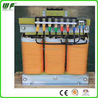 air cooled three phase voltage transformer 600V to 380V 40KVA