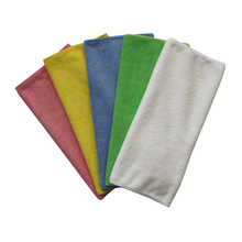 High quality hot sale Weft knitted 30x60cm Microfiber cleaning towel