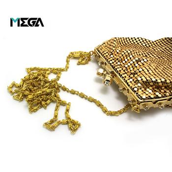 00da45b3a69 가방 부품 패션 장식 사용자 정의 골드 금속 지갑 체인 스트랩 핸드백 ...