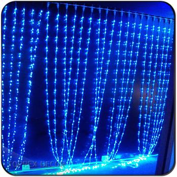 Led Curtain Lights Christmas Waterfall Lighting