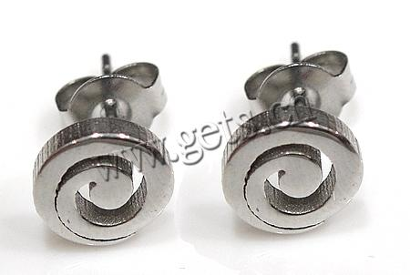 Stainless Steel Flat Round Surgical Steel Flat Earring Post 442558