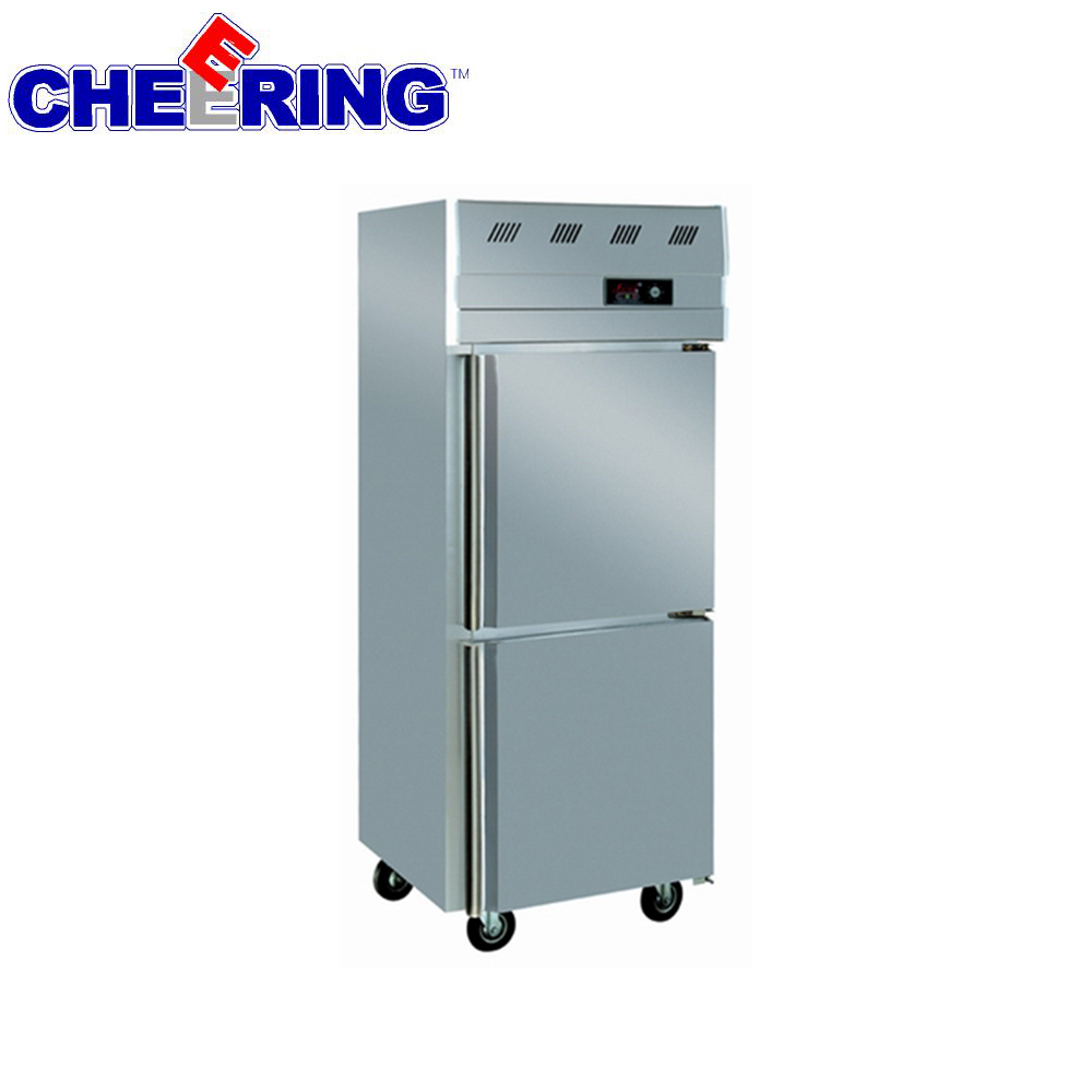 Auto-defrost etl refrigerator portable freezer for hotel kitchen restaurant meat and seafood