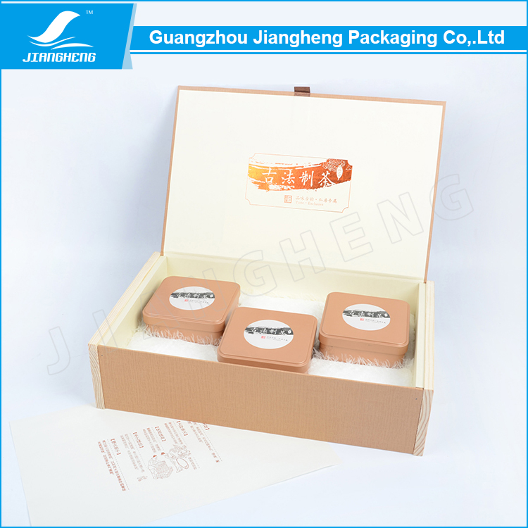Accept OEM order ! Custom paper tea packaging box with your design
