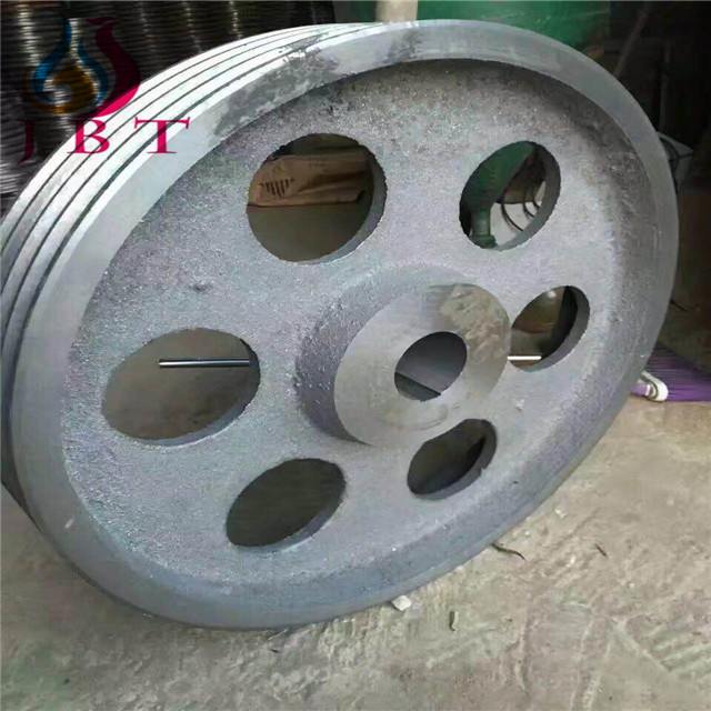 JBT production of single - double three four five six seven eight groove v belt wheel