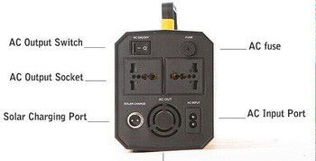 Newest 500W 600W Portable Solar Power Inverter and Controller All in One for Lantern,tv,mobile phone etc