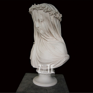 New Item Arrival Hand Carved human marble bust sculpture for sale