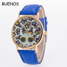 New Design Cartoon Teddy Bear Ladies Leisure Quartz Hand Watch for Children