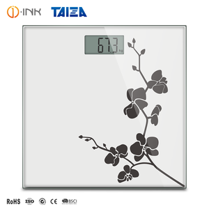 Automatic Adult Weight Scale Tempered Glass Platform Portable Smart Personal Electronic Digital Body Weighing Scale