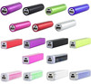 Colorful Portable Charger Mini Lipstick PowerBank External PowerBank 2000mAh For Digital Products