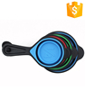 Fda standard baking measuring folding silicone measuring spoon