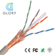 SFTP Shielded Braid Cat6 Cable CCA 23AWG 100m Cat6 SFTP Lan Cable