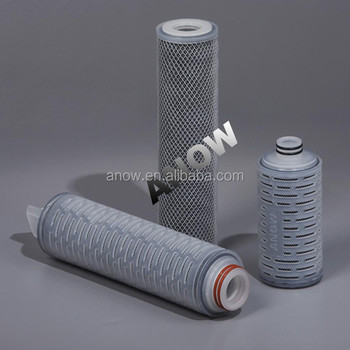 Chlorine Absorb and Large Particles Remove Low Protein Binding High Flow Rat4e Active Carbon Filter Cartridge