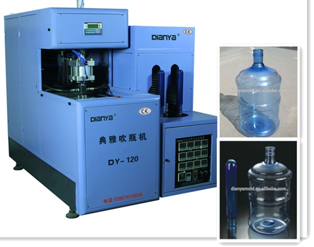 semi-automatic pet 5 gallon blow molding machine,plastic bottle machine