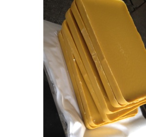 yellow bee wax/100% pure beeswax for candles