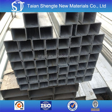 75*75*3.0mm and 100*100*4.0mm galvanized steel square pipe