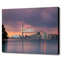 Canvas prints rolled pinture the city of Shanghai