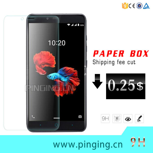 Hot Selling 9H Tempered Glass Screen Protector For ZTE Blade A610 Plus