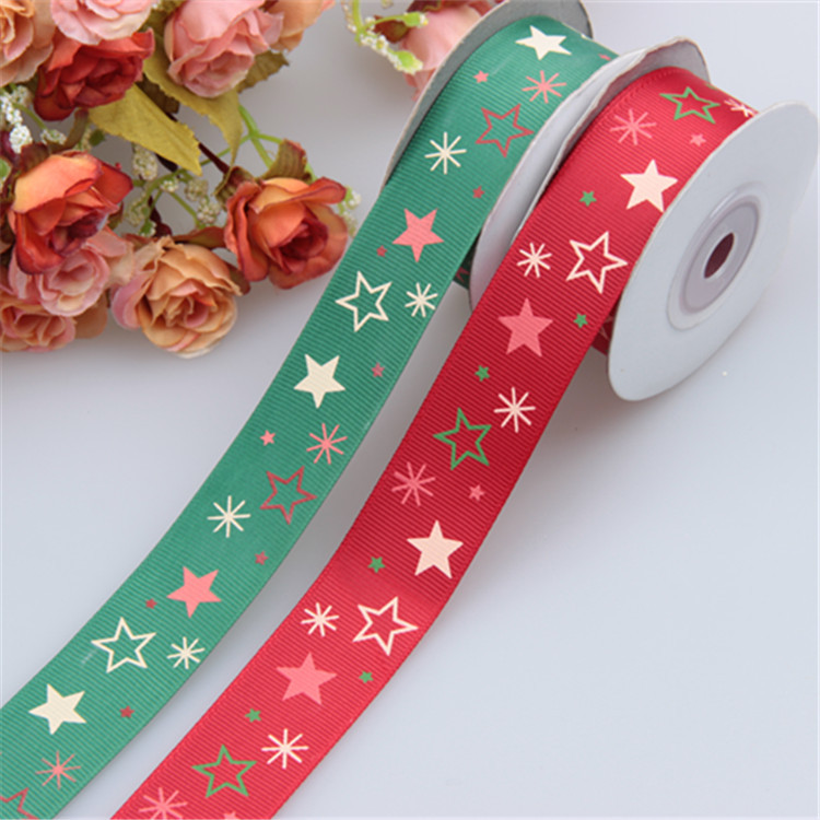 Customized Elastic Ribbon Hair Ties no minimum grosgrain 100yards clothes accessories satin ribbon for wedding