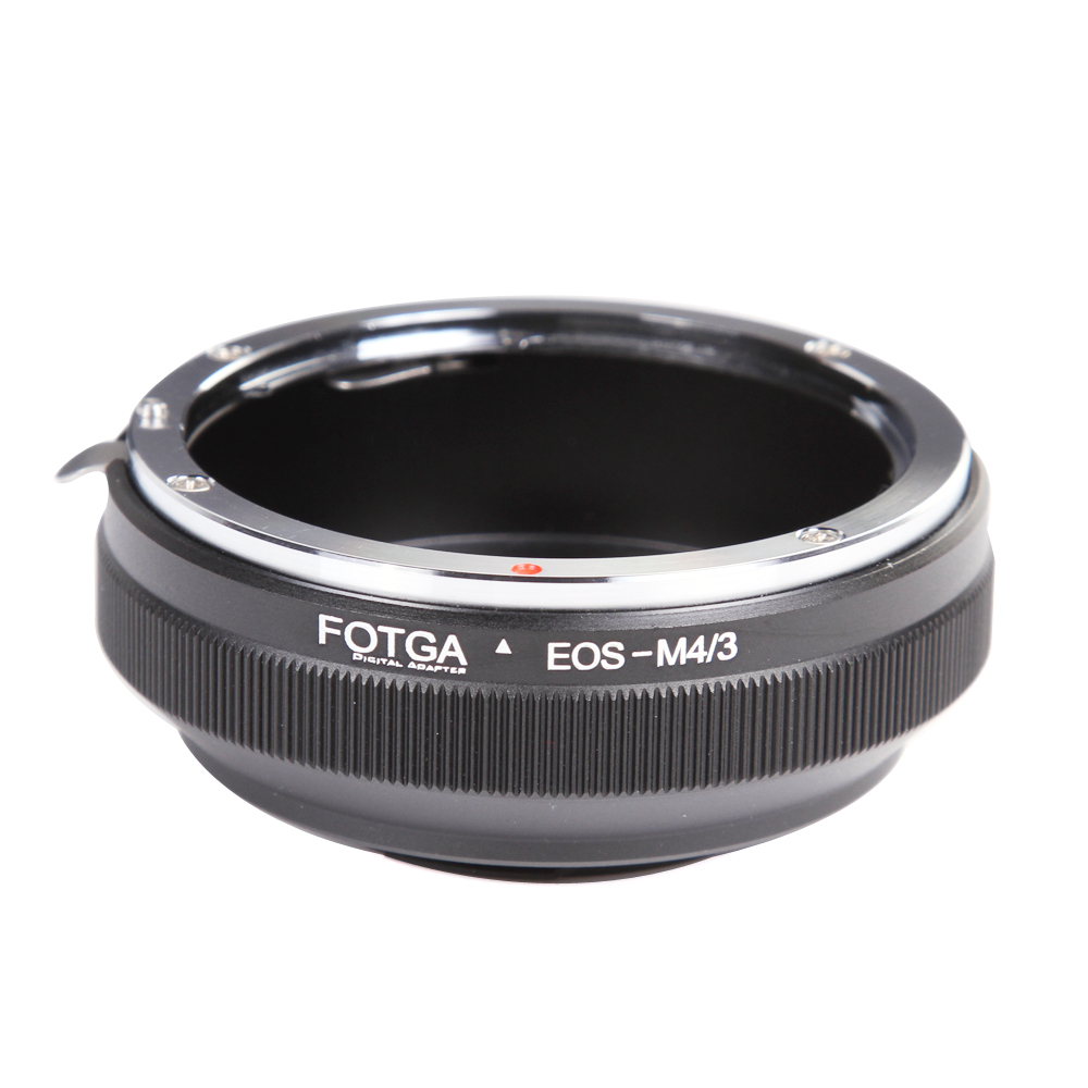 FOTGA Lens Adapter Ring For Canon EOS EF EF-S Lens to Panasonic Olympus Micro 4/3 m4/3 GH4/5/5s E-PL7/8/9 фото
