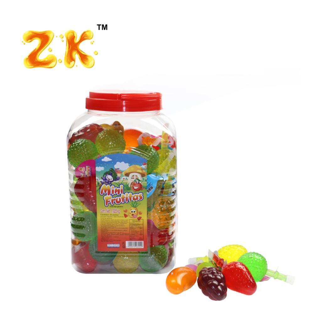 35g Mixed Mini fruit shape jelly candy 35g Mixed Mini fruit shape jelly candy