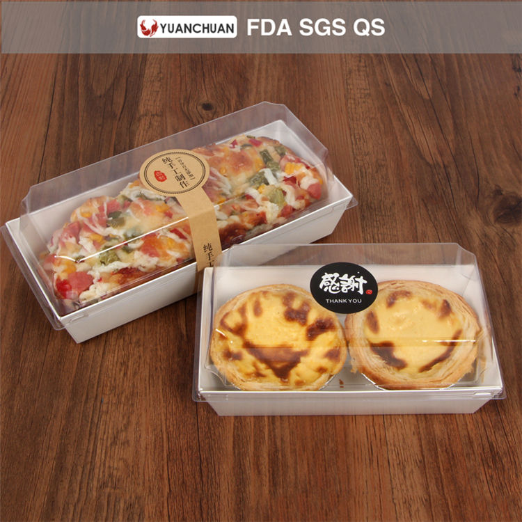 High quality food grade hot dog tray box with lid