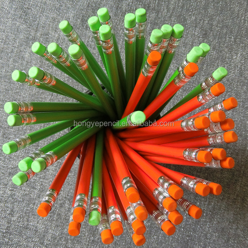 Neon Pencils,Over 10Y Experience,200 Staffs/100 New Items Monthly/80% Exported/Sample Within 5-day