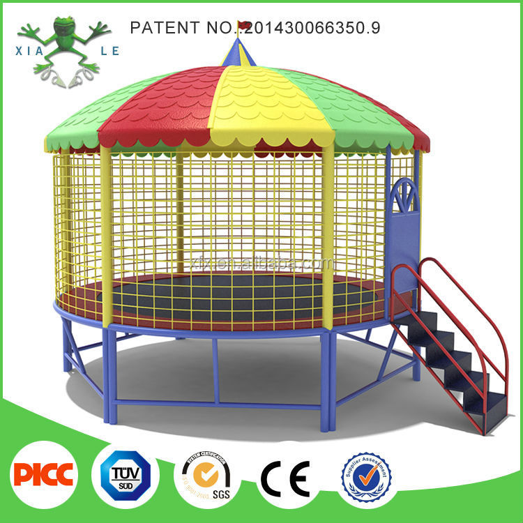 Bounce Dubai Round Trampoline With Roof Tent
