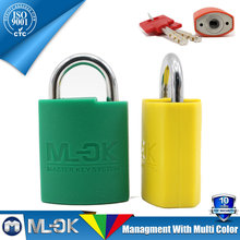 MOK @ W203/W203L 3 steel keys thin type brass padlock