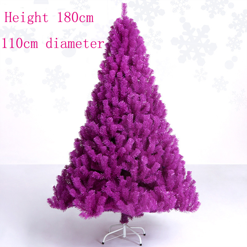 Purple And Silver Christmas Tree Decorations